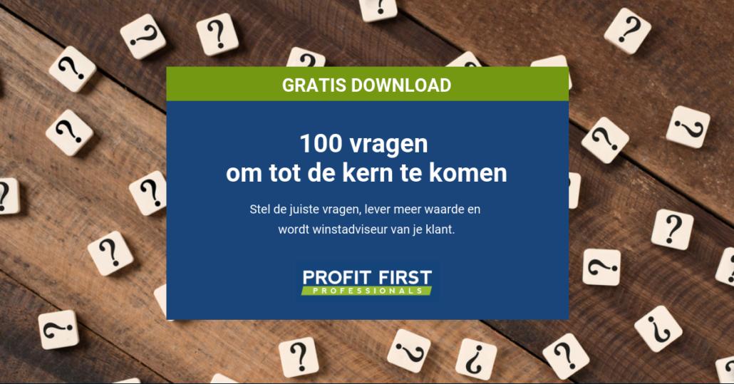 100 vragen om als boekhouder aan klanten te stellen