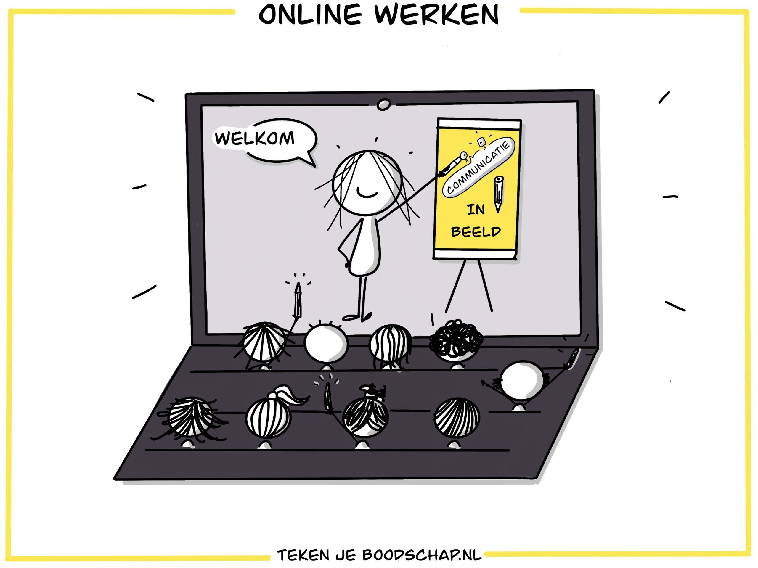 Tekenen online   Teken je boodschap