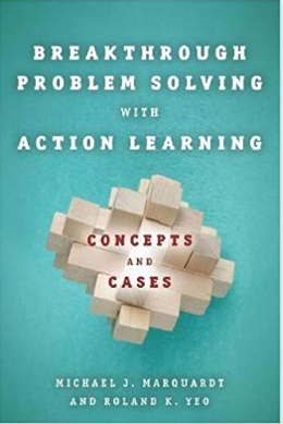 boek breaktrough problemsolving with action learning