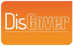 dit is het logo van disgover. disgover is een wial action learning relatie.