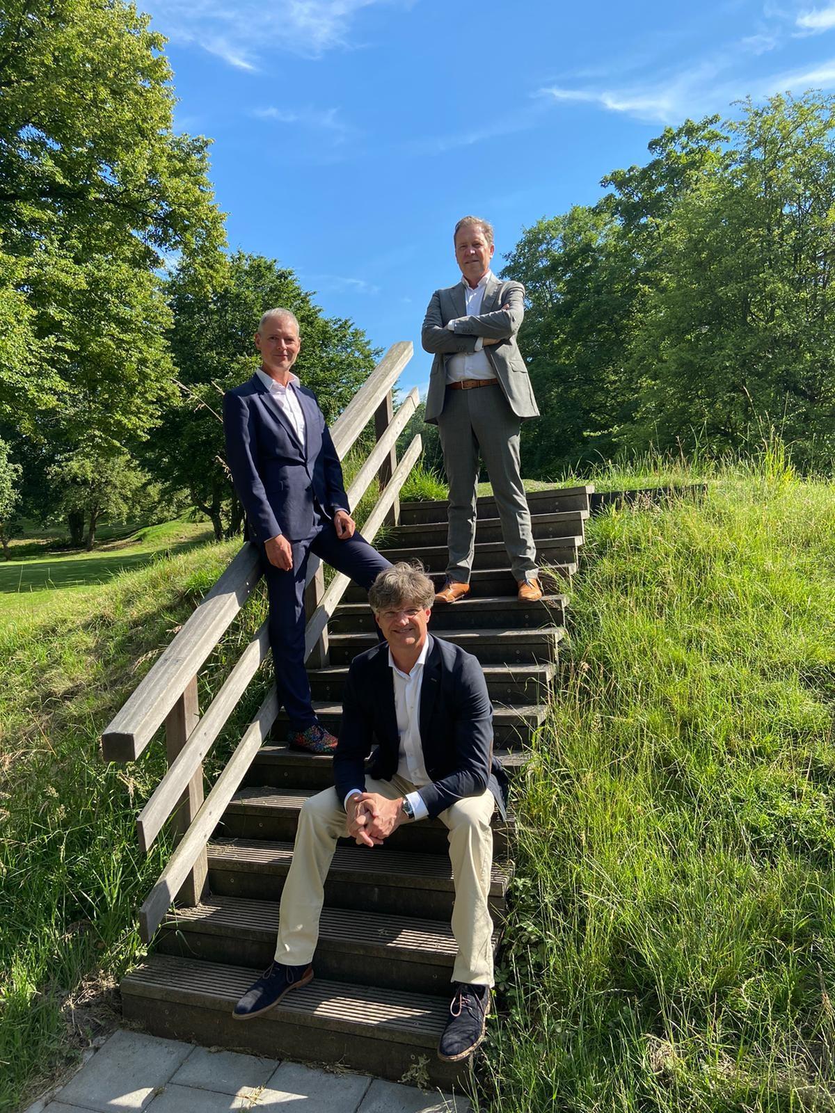 WIAL Nederland senior partners Twan Paes, Christoph Maria Ravesloot en Frank Campman