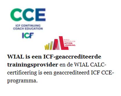 ICF CCE accreditatie