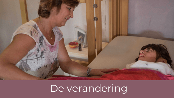 Gehandicapten, massage, Connecting Touch Therapy