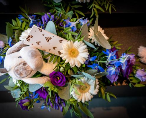 bloemboeket begrafenis