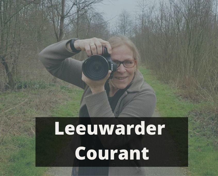 uitvaartfotograaf Gerda Wesslius in de Leeuwarder Courant.