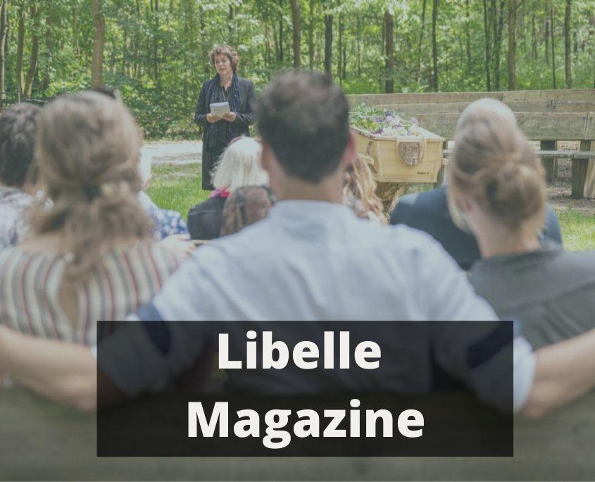 Interview met uitvaartfotograaf Gerda Wesselius in de Libelle.