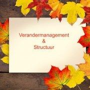 Verander management en structuur