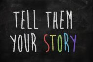 verhalen stock-photo-34713938-tell-them-your-story