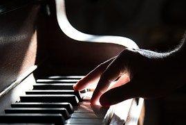 Akkoorden piano 1 hand