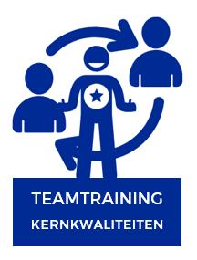 In de teamtraining kernkwaliteiten leert je team elkaar vanuit kernkwaliteiten te versterken en zo de samenwerking te verbeteren..
