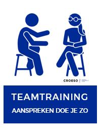 Teamtraining waarin je team leert hoe zij elkaar op een constructieve wijze aanspreken.