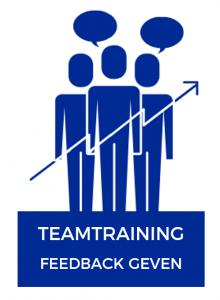 Feedback geven. Teamtraining.