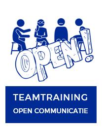 Teamtraining open communicatie die je team een positieve boost geeft. Oprecht, waarderend en constructief.