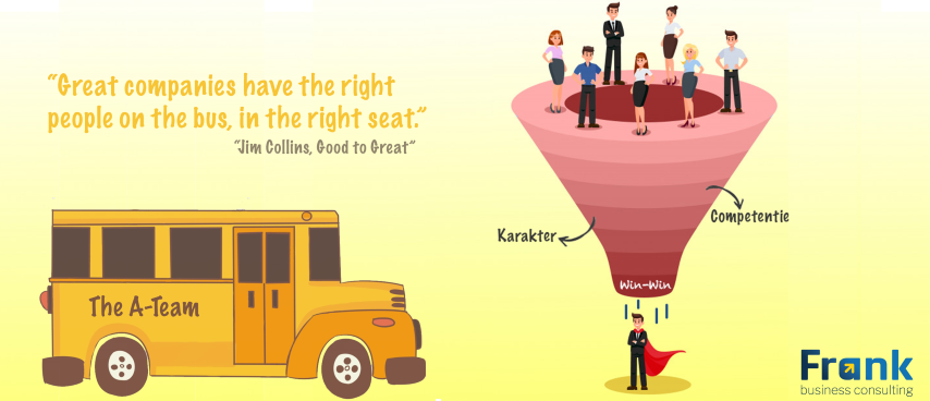 The right people on the bus - een geweldig team