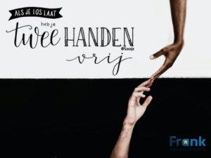 Twee handen vrij maken - een geweldig team